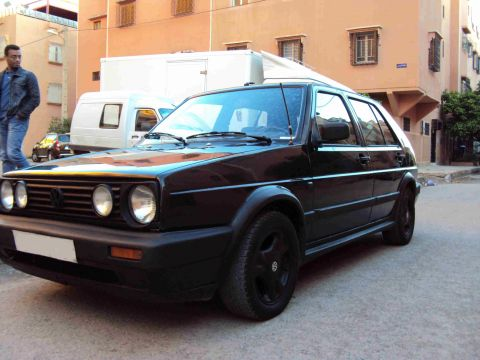 volkswagen golf ii gtd occasion de 1988 marrakech. Black Bedroom Furniture Sets. Home Design Ideas