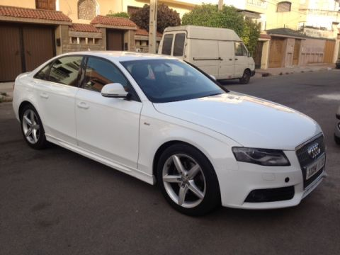 audi a4 tdi s line occasion casablanca 100000km annonce n 211726. Black Bedroom Furniture Sets. Home Design Ideas